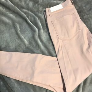 NWT Light dusty pink Loft legging pants